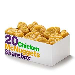 20 Chicken McNuggets voor €4 - McDonald's Cadeau Kalender