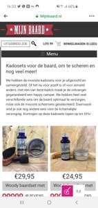 10% korting op sets bij mijnbaard.nl