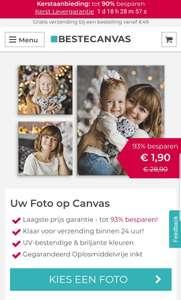 Tot 93% korting bij bestecanvas.nl