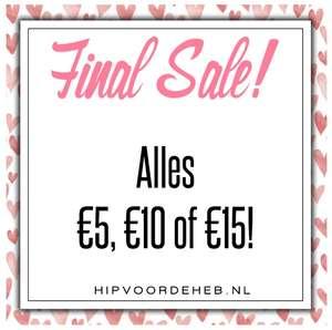 Alle SALE €5 / €10 / €15 @ Hipvoodeheb