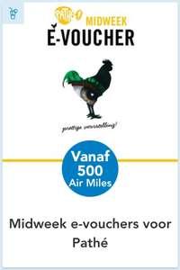 Pathé Midweek e-voucher @Air Miles