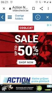 CoolCat sale tot 50% korting!