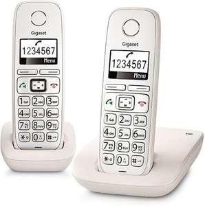 Gigaset E260 - Duo DECT telefoon - Wit @ Bol.com