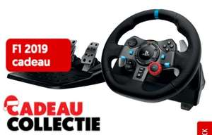 Logitech G29 + F1 2019 aanbieding @mediamarkt