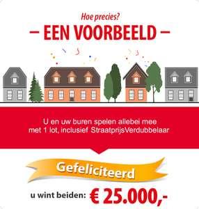 Gratis €20 + eerste maand gratis Postcode Loterij