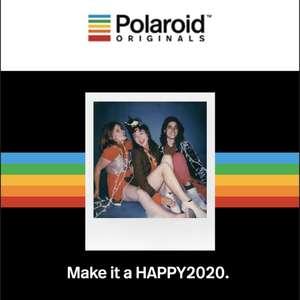 20% korting op alle polaroid films