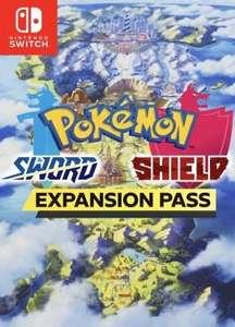 Pokémon Sword/Shield Expansion Passes voor €24,99 @ shopto