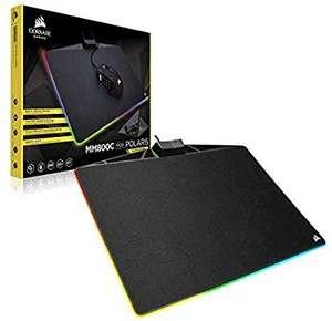Corsair MM800C RGB Polaris Gaming Muismat 350 × 260 × 5 mm (Amazon UK)