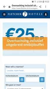 Fletcher 25 euro actie per persoon