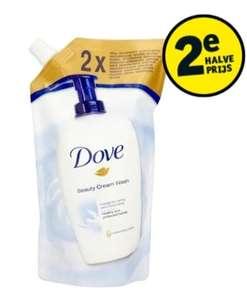 Dove Beauty Cream handzeep navul 500 ml voor €0,74 (door 2e halve prijs) + GRATIS mok!