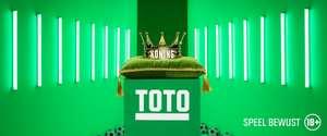 Free Bet van TOTO t.w.v. 5 euro voor 249 airmiles