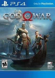 God of War (PS4 download) (US PSN-account benodigd)
