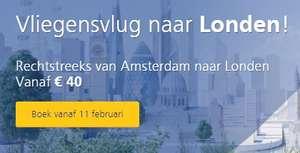 Rechtstreekse trein van Amsterdam naar London (enkele reis)