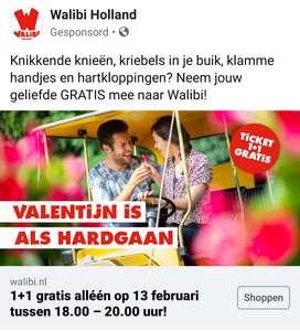 [Alleen vanavond tussen 18:00-20:00] 1+1 gratis op Walibi Holland tickets @ Walibi webshop