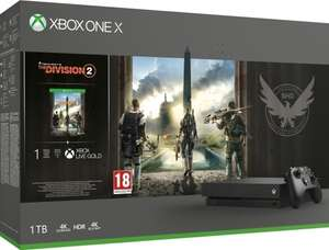 Xbox One X - 1TB + The Division 2