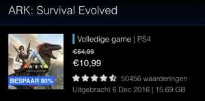 PS Store NL - ARK: Survival Evolved