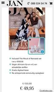 [44% korting] Rituals of Namasté mega set T.W.V. €100.50 bij 8x JAN Magazine