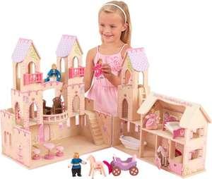 KidKraft Houten Prinsessenkasteel Poppenhuis voor €41,99 @ bol.com