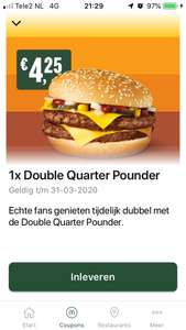 Double Quarter Pounder & andere McDonald's kortingscodes (week 9)