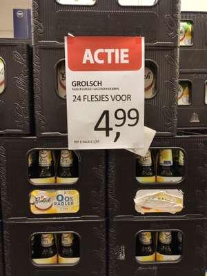 24 flesjes Grolsch Radler 0.0 Ice Tea Citroen @ Die Grenze in Enschede (centrum)
