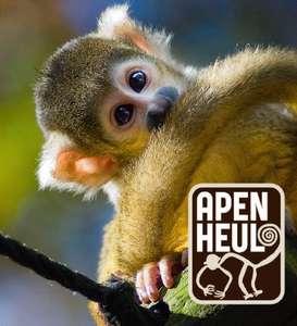 Openingsactie bij Apenheul, €15 per kaartje