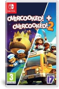 Update [Switch] Overcooked + Overcooked 2 double pack fysiek voor €27,64 @ amazon.nl [ook ps4 en xbox one goedkoop]