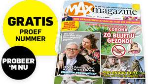 Gratis proefexemplaar van Max Magazine