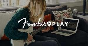 Fender Play 3 maanden gratis (Bass/Acoustic/Electric/Ukulele)