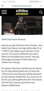10FREE tiers Call Of Duty Modern Warfare