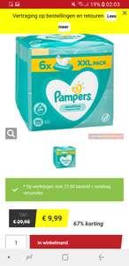Pampers Sensitive voordeelpack Babydoekjes