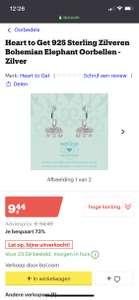 Heart to get olifant oorbellen 70%