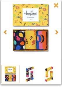 Giftbox met 3 paar happy socks maat 36-40