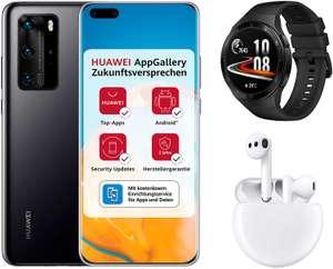 Huawei P40 Pro + Watch GT 2 + Freebuds 3