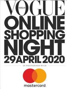 [29 april 12:00-23:59 uur] Vogue Online Shopping Night (tot 50% korting op geselecteerde merken)