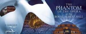 Vr 20:00 - zo 20:00: Andrew Lloyd Webber's Phantom of the Opera Musical gratis bekijken