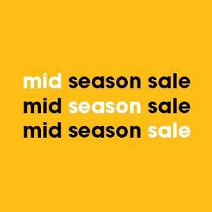 Mid Season Sale: tot 40% korting! @ZIENGS