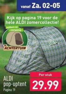 Aldi pop-up tent (Schultenbraü of Goldenpower) €29,99 @Aldi