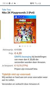 Nba 2K Playgrounds 2 (Ps4) Amazon.