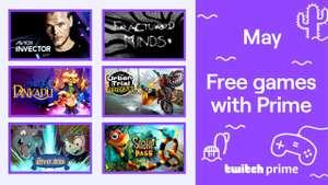 Gratis mei games voor Prime Twitch leden