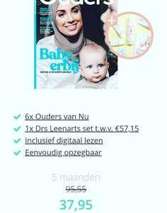 6x tijdschrift: Ouders van nu + dr. Leenarts pakket t.w.v. €57,15