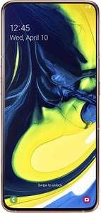 Samsung Galaxy A80 Goud @ Amazon.nl