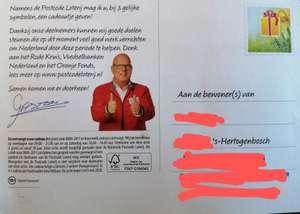 Postcode loterij - Gratis Tony Chocolony reep, puzzelboekje of tijdschrift