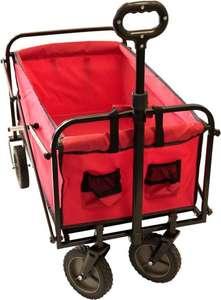 Kynast bolderwagen/bolderkar - max. 70kg - rood bol.com