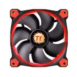 Thermaltake Riing 12 High Static Pressure LED Radiator Fans (set van 3) Rood, 120mm