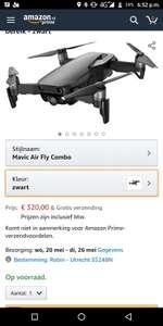 Mavic Air fly more combo