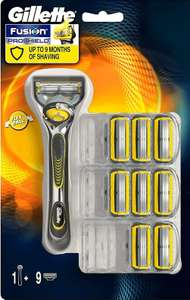 Gillette fusion proshield 9 mesjes incl apparaat