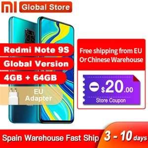 Xiaomi Redmi Note 9S 64/128gb (Spanje)