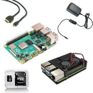 Raspberry pi starter kit 4GB