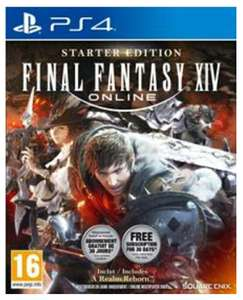 [GRATIS] Final Fantasy XIV Online - Starter Edition, PS4