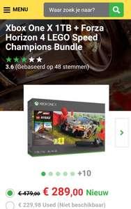 Xbox One X 1 TB+ Forza Horizon 4 Lego Speed Champions Bundle